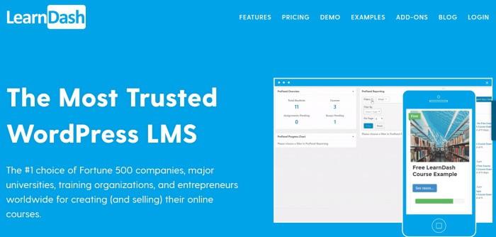 LearnDash WordPress LMS