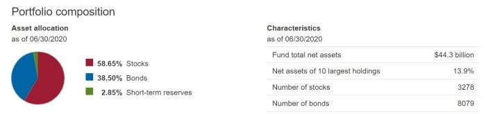 Vanguard Balanced Index Fund