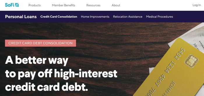 SoFi Debt Consolidation
