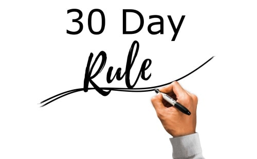 The 30-day rule