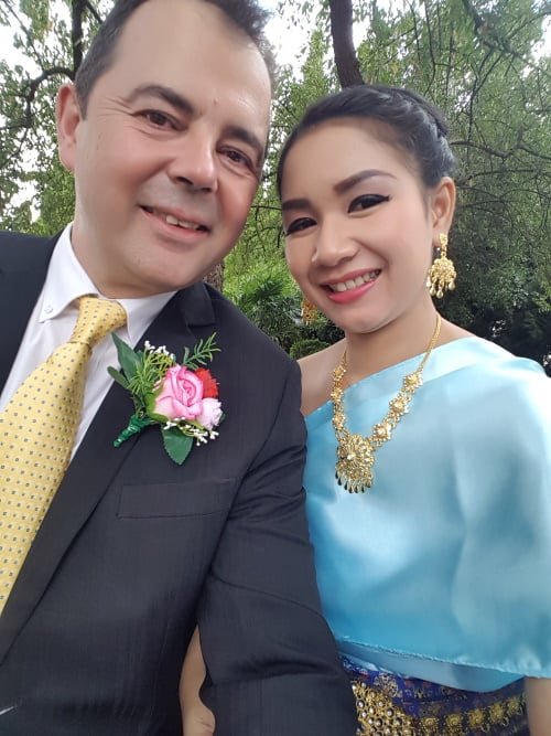 My beautiful wife Nuy